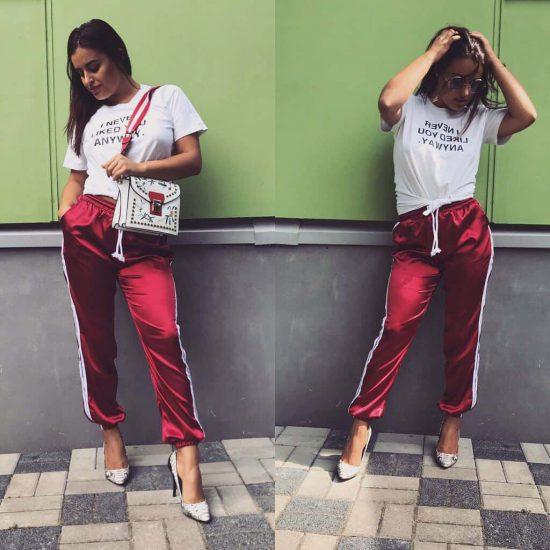 satenove damske nohavice – 13