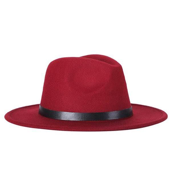 dámsky klobuk na zimu bordovy
