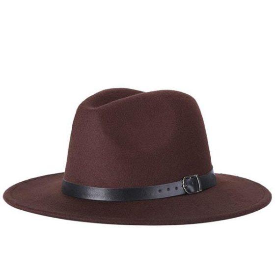 dámsky klobuk na zimu cokoladovy