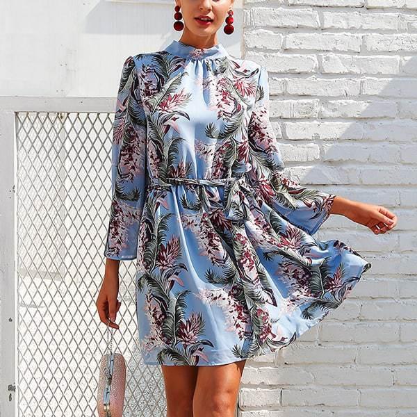 5550753629 Romantické kvietkované dámske šaty