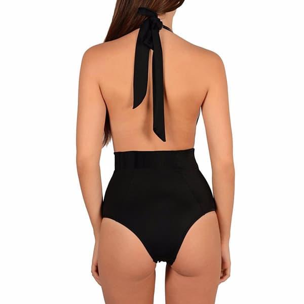 Sexi čierne jednodielne plavky 2019  ffe3b0e9d0