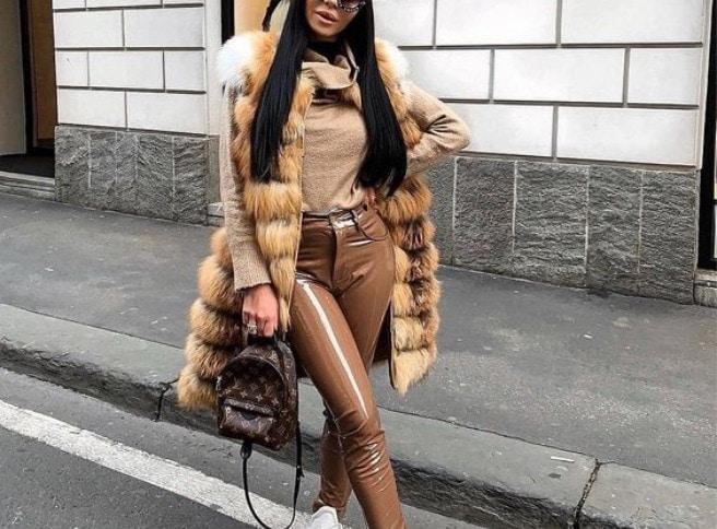 10 TOP outfitov ako nosiť kožušinovú vestu! 4