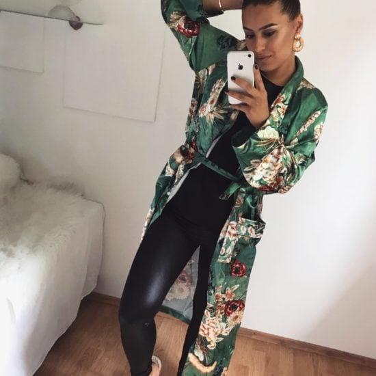 damske dlhe kimono