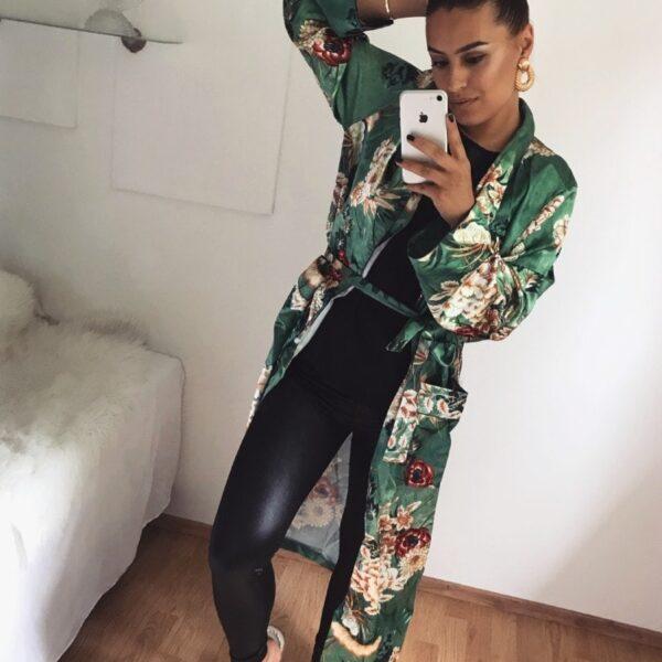 damske satenove kimono