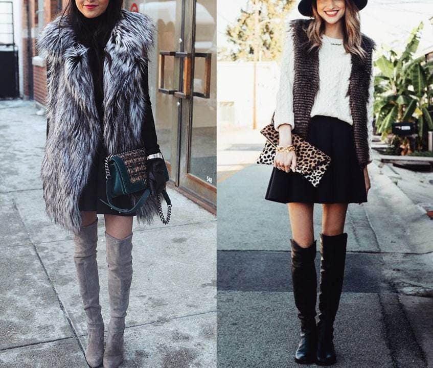 970102330e2b 5 TOP outfitov ako nosiť kožušinovú vestu!