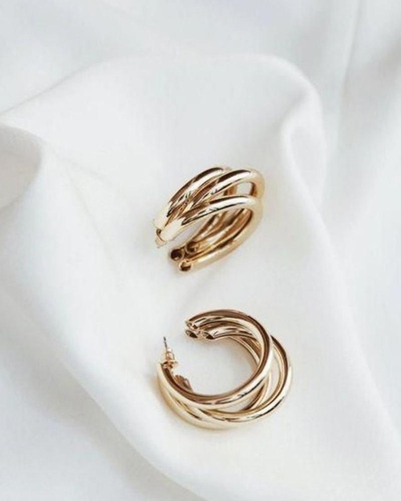 zlate male nausnice