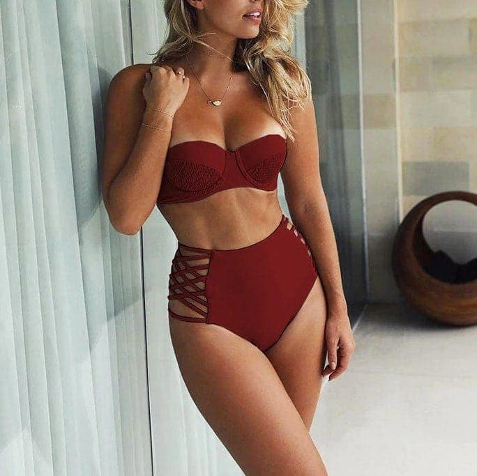 b76ad0f56 Dámske plavky s vysokým pásom | Happywoman.sk