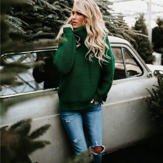 zeleny damsky sveter-8