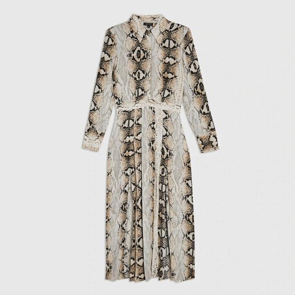 Bohemian šaty s potlačou 1