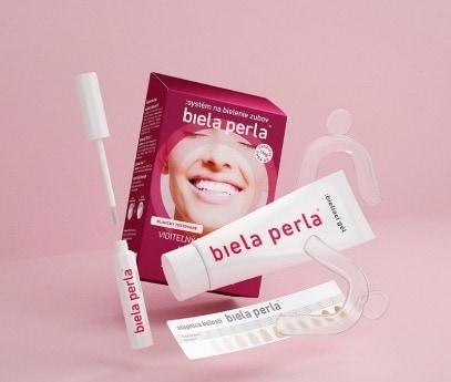 biela perla na zuby