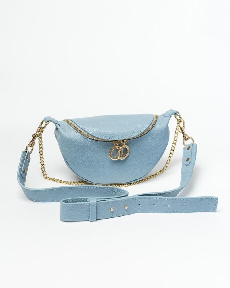 kozena kabelka okolo pasu