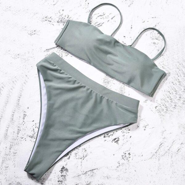 damske plavky - siva