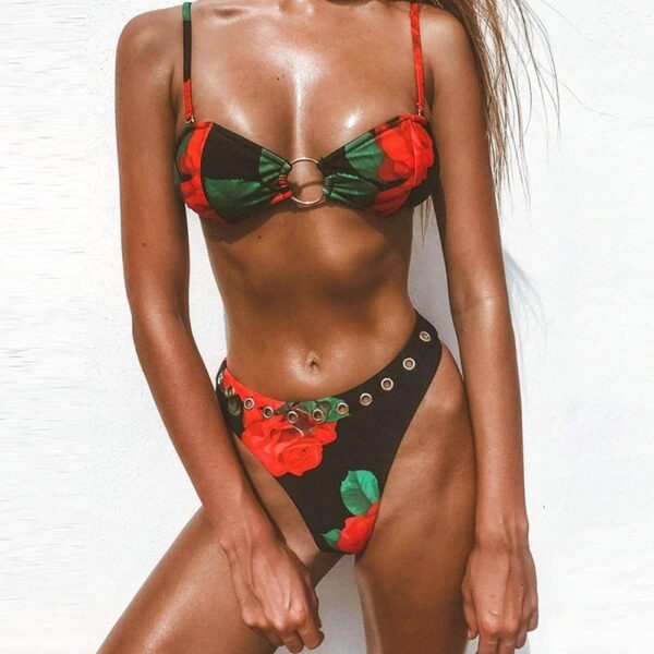 brazilske plavky - cervena