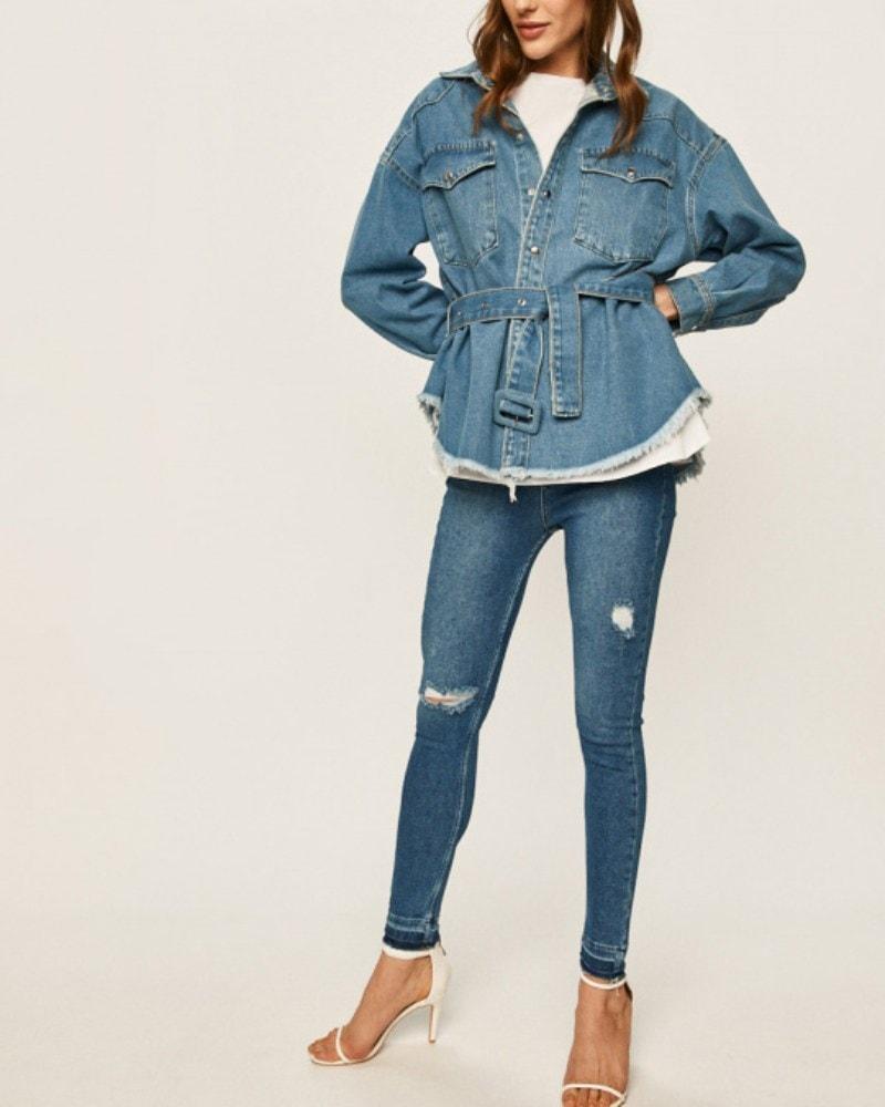 Rifľová bunda musí byť v šatníku každej ženy! Viete ju nosiť štýlovo? 1