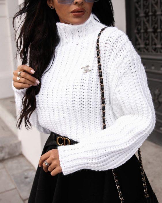 damsky hruby rolakovy sveter