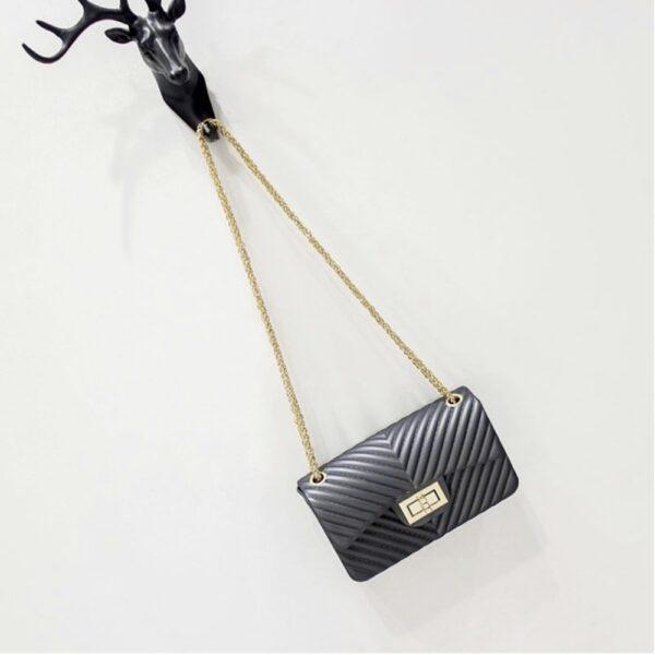 kabelka na ples - siva