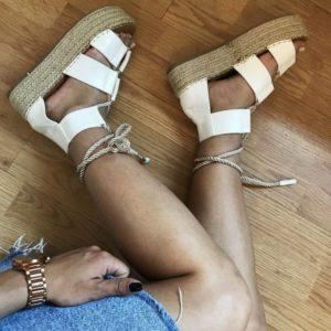 damske sandale na platforme