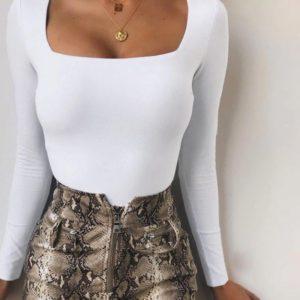 biele damske body