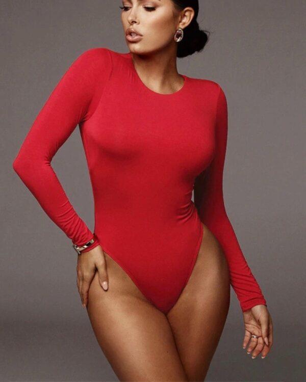 cervene damske body