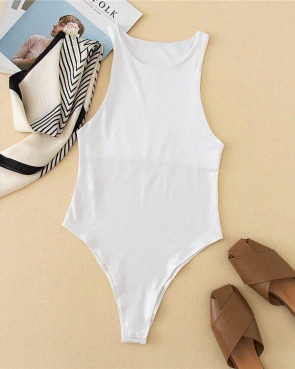 damske body biele
