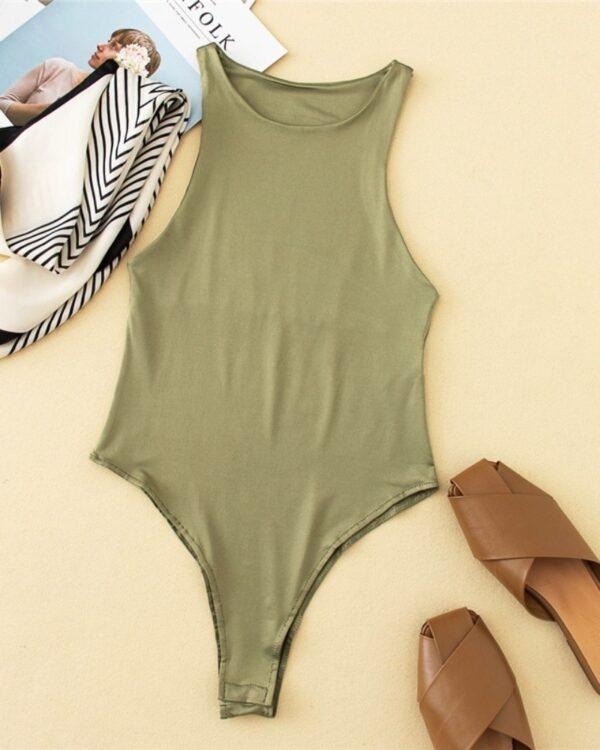 damske body zelene