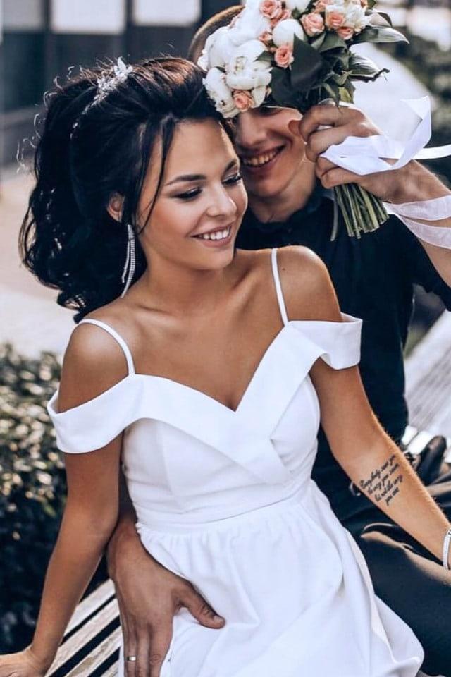 biele svadobne saty