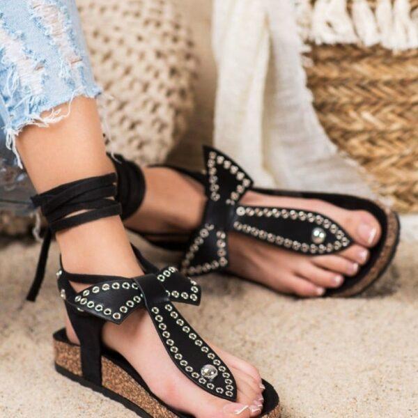 sandalky s maslickou