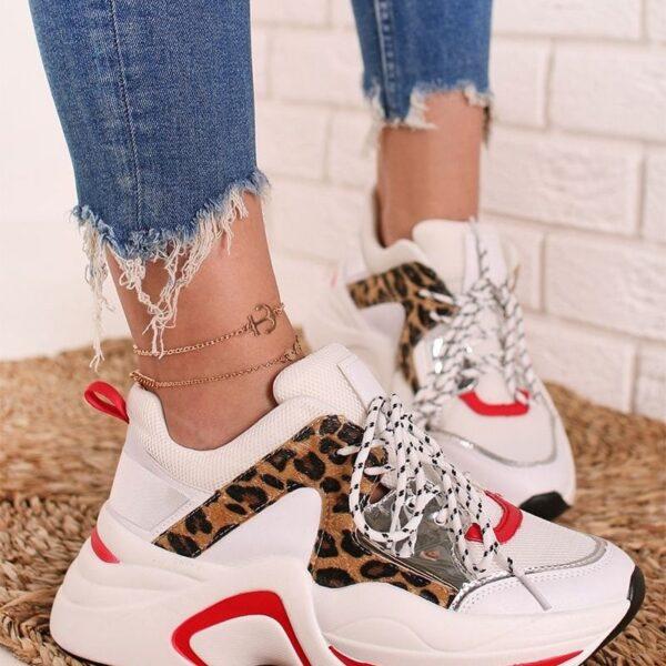 damske leopardie tenisky