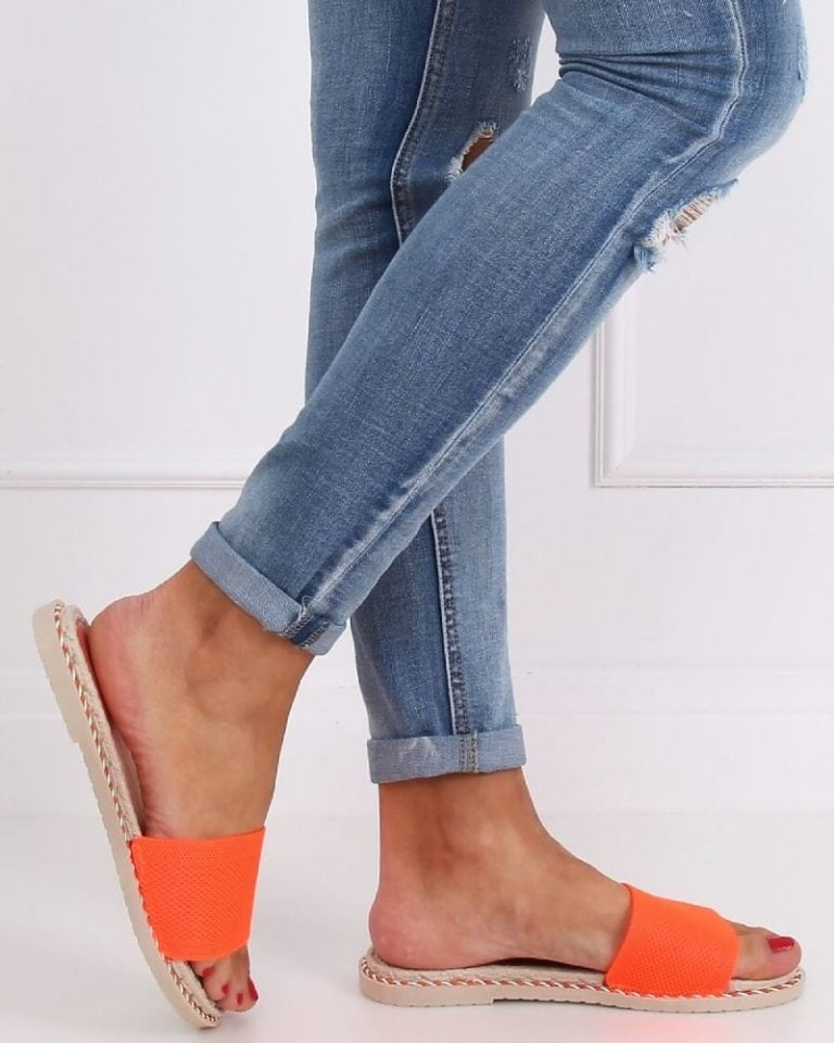 damske oranzove slapky