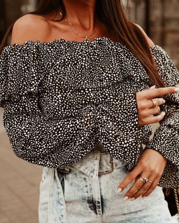 damska letna bluzka