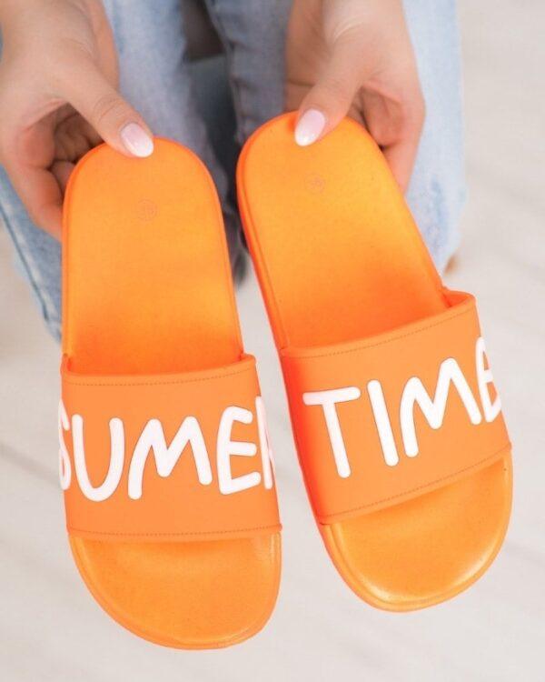 oranzove letne slapky