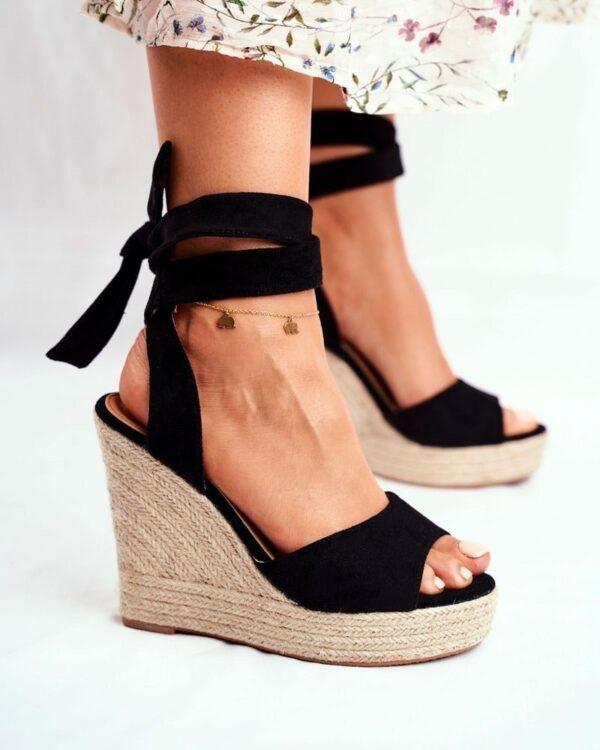 sandale na plnom opatku