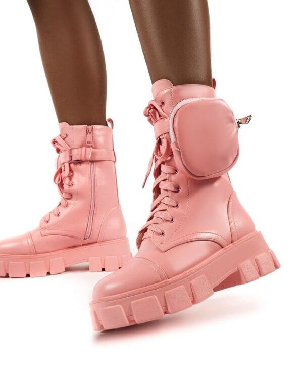 damske ruzove cizmy