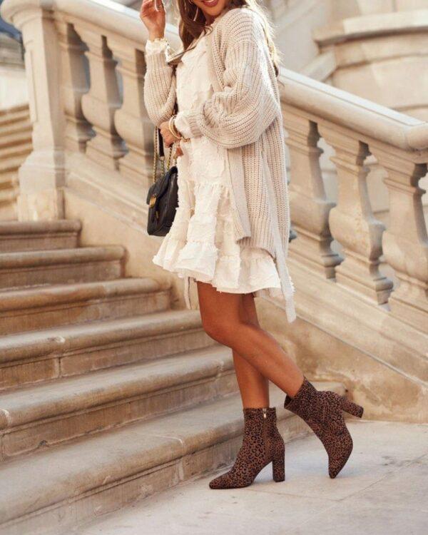 damske hnede cizmy
