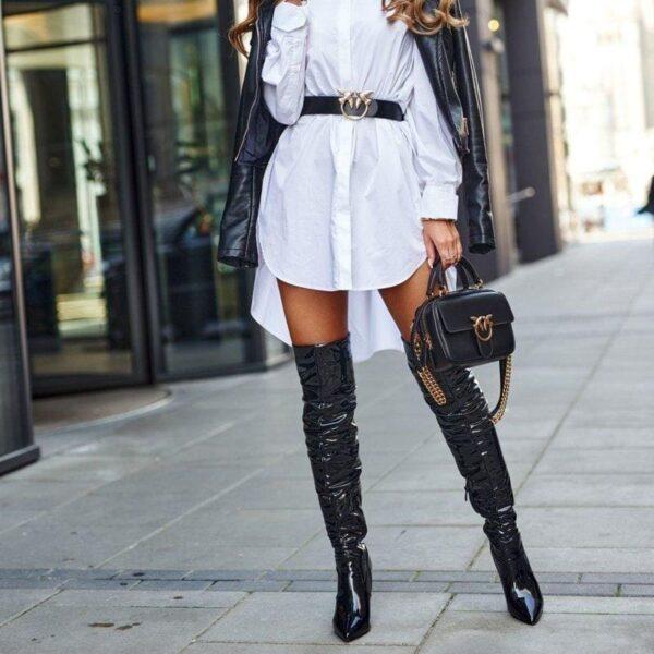 damske cizmy nad kolena