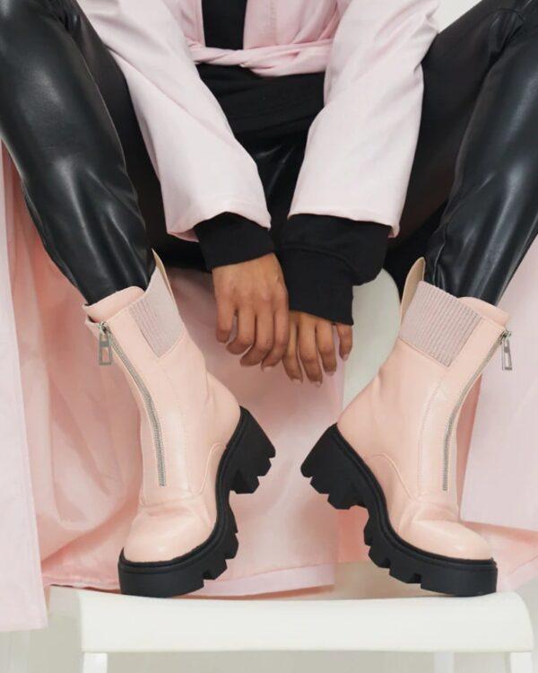 lakovane damske cizmy