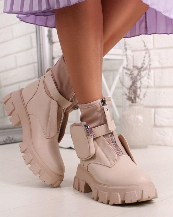 damske cizmy bezove