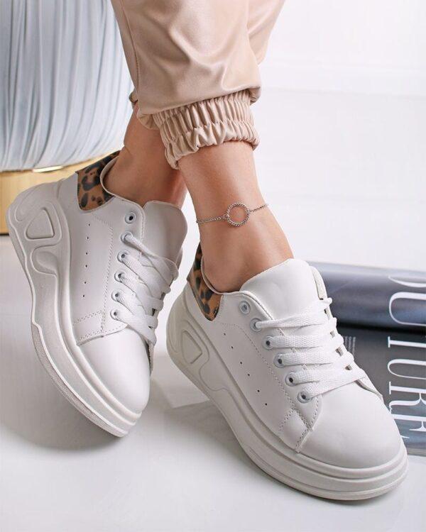 damske tenisky biele