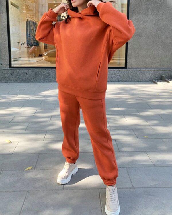 damska oranzova suprava