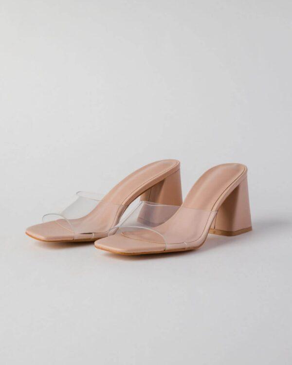 vysoke priesvitne sandale