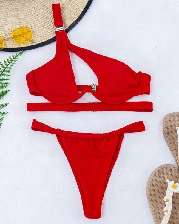 damske cervene plavky