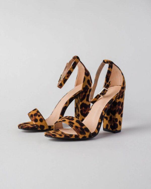 leopardie sandale