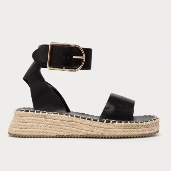 sandale na platforme