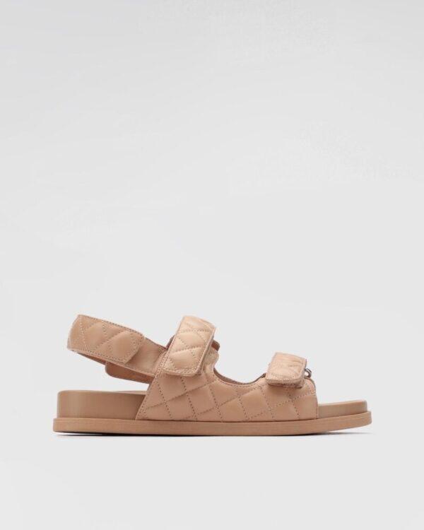 bezove nizke sandale