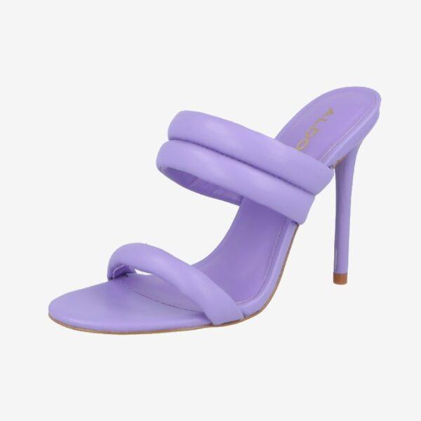fialove vysoke sandale